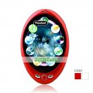 I5+ Dual Card Quad Band Bluetooth Fashion Oval Touch Screen Cell Phone