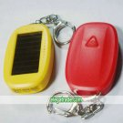 Solar LED Flashlight Key Chain