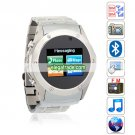 S968 Quad Band Dual Cards Dual Standby Camera Bluetooth Java 1.2-inch Touch Screen Watch Phone