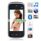 5230 Quad Band Dual Cards Dual Standby Camera Bluetooth Java  Phone - Black