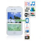 HiPhone K668 Quad Band Dual Cards Dual Cameras WiFi Bluetooth Java  Phone
