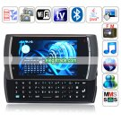 U8 Quad Band Dual Cards Dual Standby Dual Cameras WIFI Color TV Bluetooth JAVA  Phone-Black