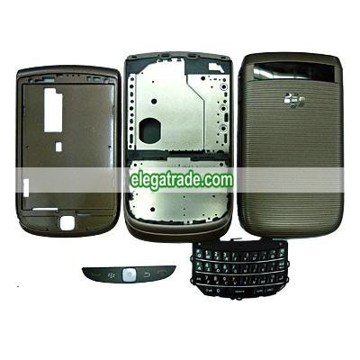 Fullset Housing with Keypad Compatible For Blackberry 9800 - Gray