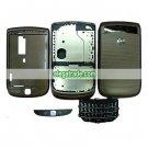 Fullset Housing with Keypad Compatible For Blackberry 9800 - Gray