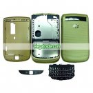 Fullset Housing with Keypad Compatible For Blackberry 9800 - Gold
