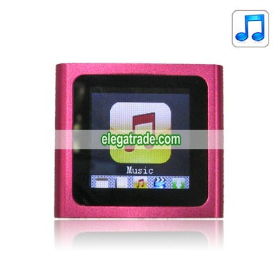 2.0-inch Screen MP4 Player - 4G (Rose)