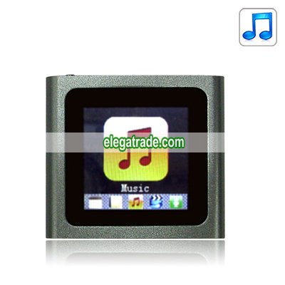 2.0-inch Screen MP4 Player - 4G (Gray)