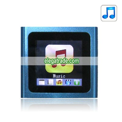 2.0-inch Screen MP4 Player - 4G (Blue)