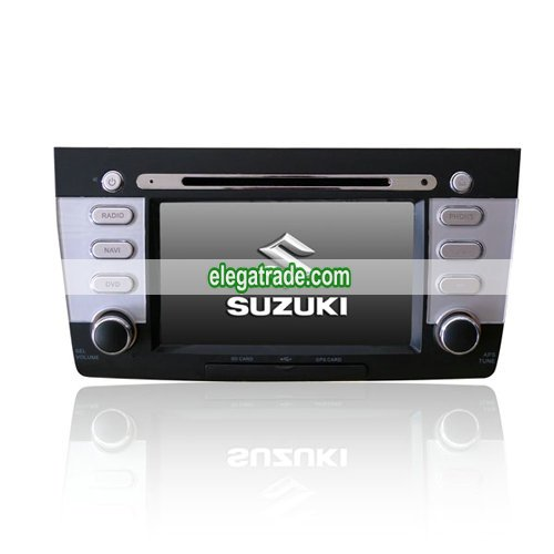 Custom Car DVD Player GPS Radio System with 7'HD Touch Screen for Suzuki Swift