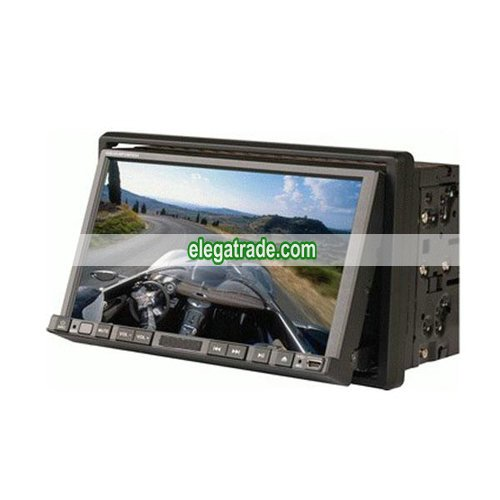 7� Indash Touch Screen Digital LCD 2 din Car DVD Player