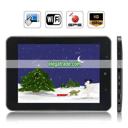 Android 2.1 IMAPX210 256M RAM 2GB HDD 8-inch Resistive Touch Screen Tablet PC