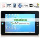 Wince 6.0 WLAN GPS Live TV 7.0 Inch Touch Screen Tablet PC + MAPS