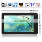Android 2.1 Telchip 8902 256M RAM 720MHz 4G HDD WIFI Bluetooth GPS  Tablet PC