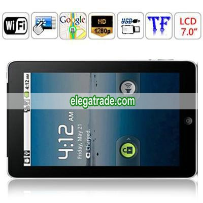 Kpad 70T1 - 7.0 Inch TFT LCD Resistive Touch Screen WIFI TC8902(ARM11) Android 2.1 Tablet PC