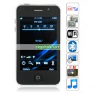 Quad Band Single Card Dual Cameras WIFI Bluetooth 3.5-inch Touch Screen Phone - Silver