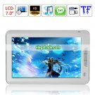 4G Capacity Music Player Recording Browsing History Bookmark HD 1080P 7-inch Ebook Reader