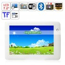 Android 2.2 Amlogic ARM Cortex A9 WIFI Bluetooth Camera 7-inch Capacitive Touch Screen Tablet PC