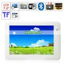 Android 2.2 Amlogic ARM Cortex A9 WIFI Bluetooth Camera 7-inch Resistive Touch Screen Tablet PC