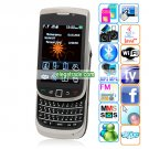 H8000 Quad Band Dual Cameras WIFI Analog TV Bluetooth Java 2.8-inch Screen QWERTY Phone