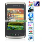F912 Quad Band Four Cards Four Standby Cameras Analog TV Bluetooth 2.8-inch Touch Screen Phone