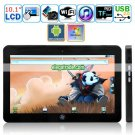 Android 2.2/Window 7 10.1-inch LED Backlight LCD Touch Screen Tablet PC