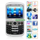 Q7 Cameras Wifi TV Bluetooth Java 2.31 - inch QVGA LCD Screen Phone - Black