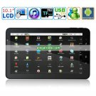 Android 2.2 800MHZ 512M 4G HDD WIFI 10.1-inch LED Panel Dual Point Touch Screen Tablet PC - X8