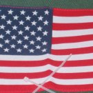 Support Our Troops in Iraq Patriotic AMERICAN FLAG ANTENNA FLAG USA F12