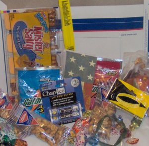 Support Our Troops HALLOWEEN Military Care Gift Package Desert Iraq Army Marine Soldier