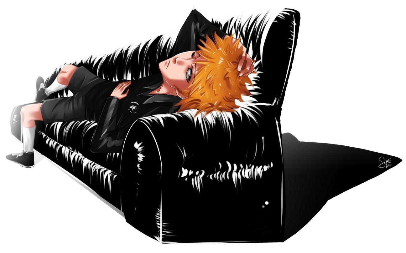 Ichigo sofa 8.5 x 11 print
