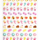 Kamio Japan Petit Sweets sticker sheet