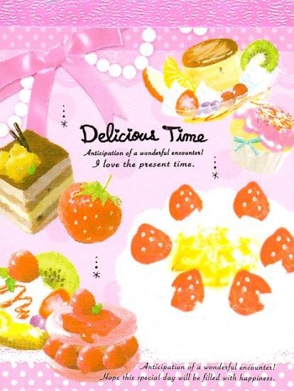 Kamio Japan Delicious Time mini memo