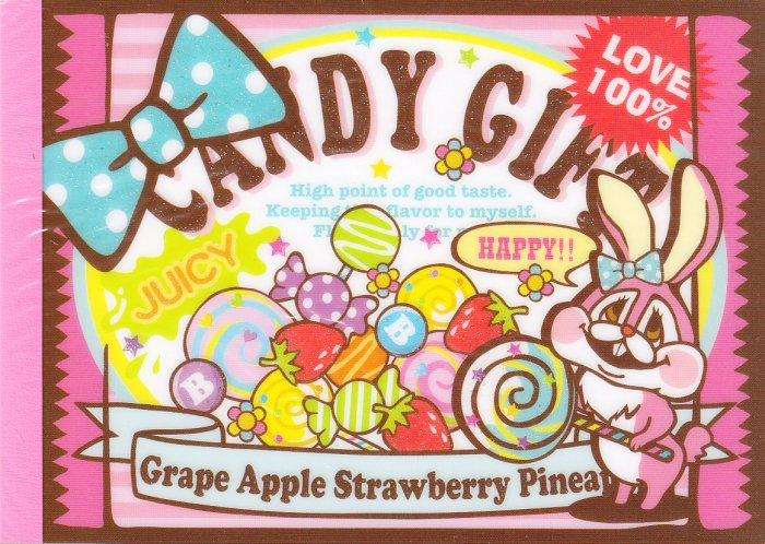 Kamio Japan Candy Gift Regular Memo