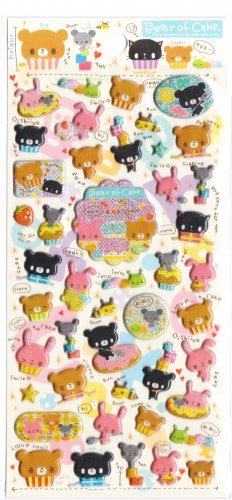 Crux Bear of Cake Sticker Sheet