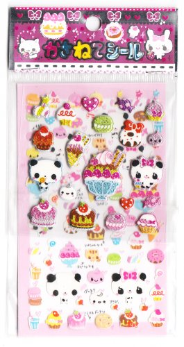 Lemon Co Pandas & Cakes Sticker Sheet