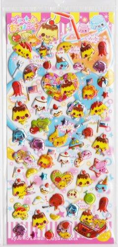 Crux Pudding Chan no Okosama Lunch Sticker Sheet