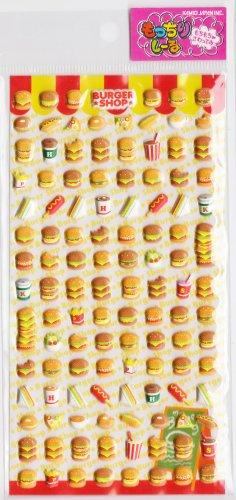 Kamio Japan Burger Shop Sticker Sheet