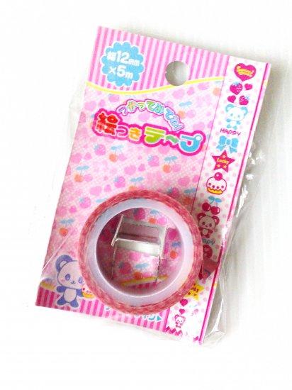 Lemon Co Bear & Sweets Mini Deco Tape