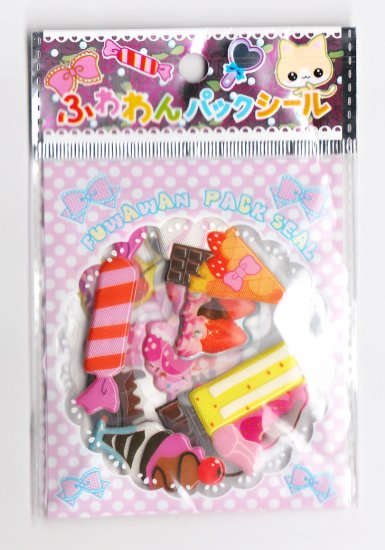 Lemon Co Cute Candies Sticker Sack