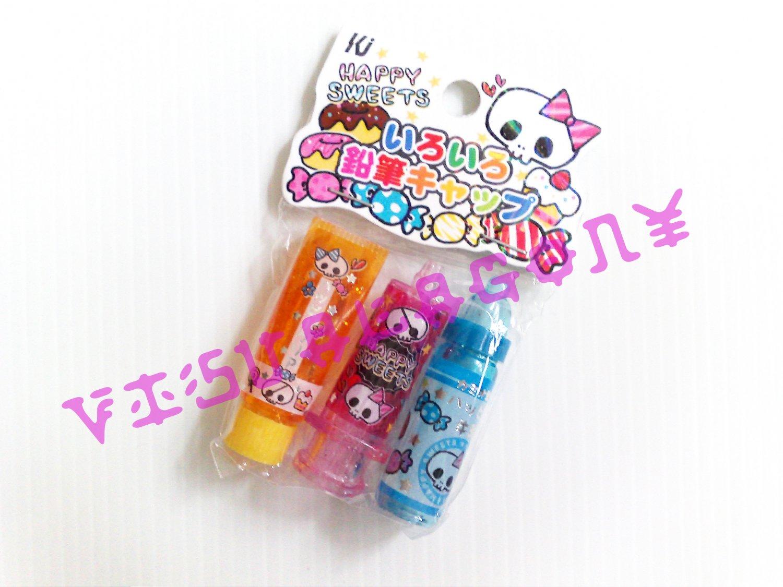 Kamio Happy Sweets Pencil Caps