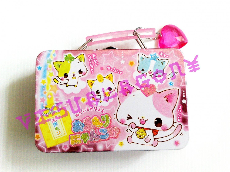 Crux Lucky Nyanko Mini Memo Metal Case