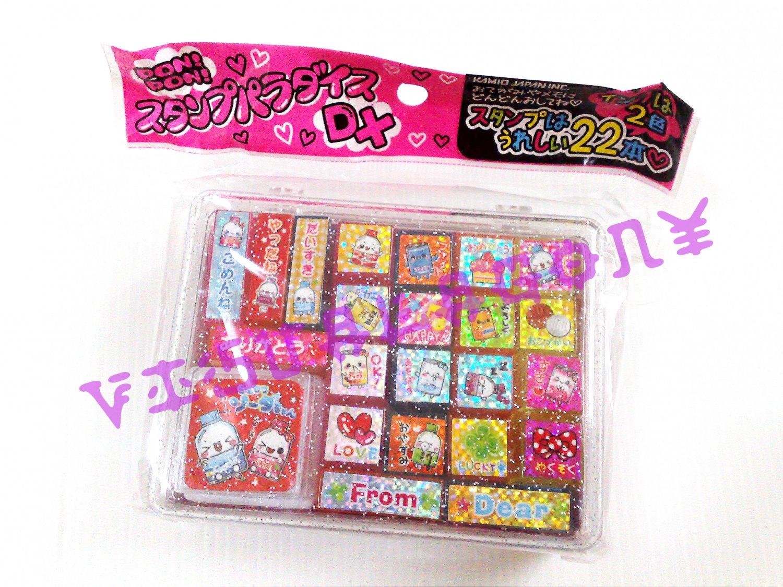 Kamio Shuwawa Soda Chan Stamp Set