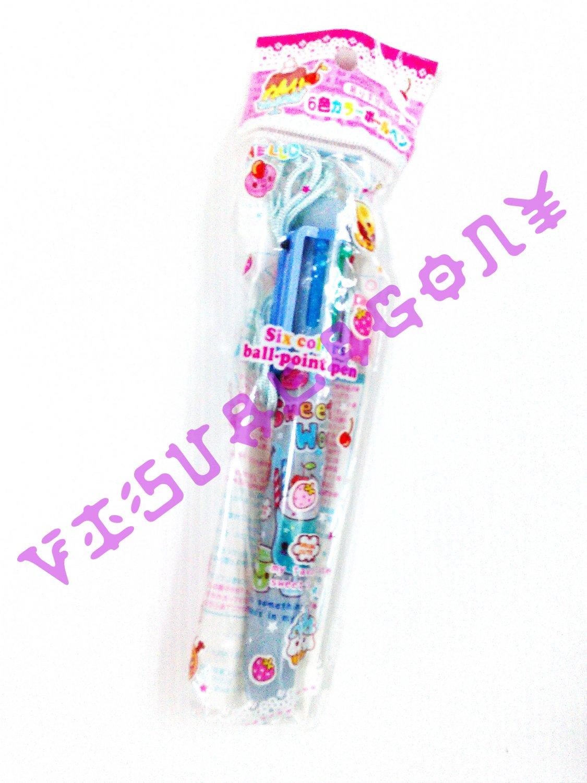 Lemon Co Sweet World 6 Colors Pen