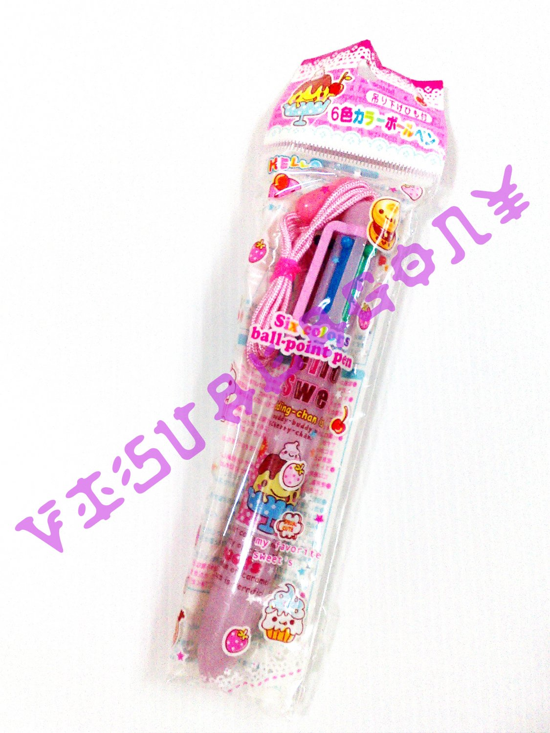 Lemon Co Hello Sweets 6 Colors Pen