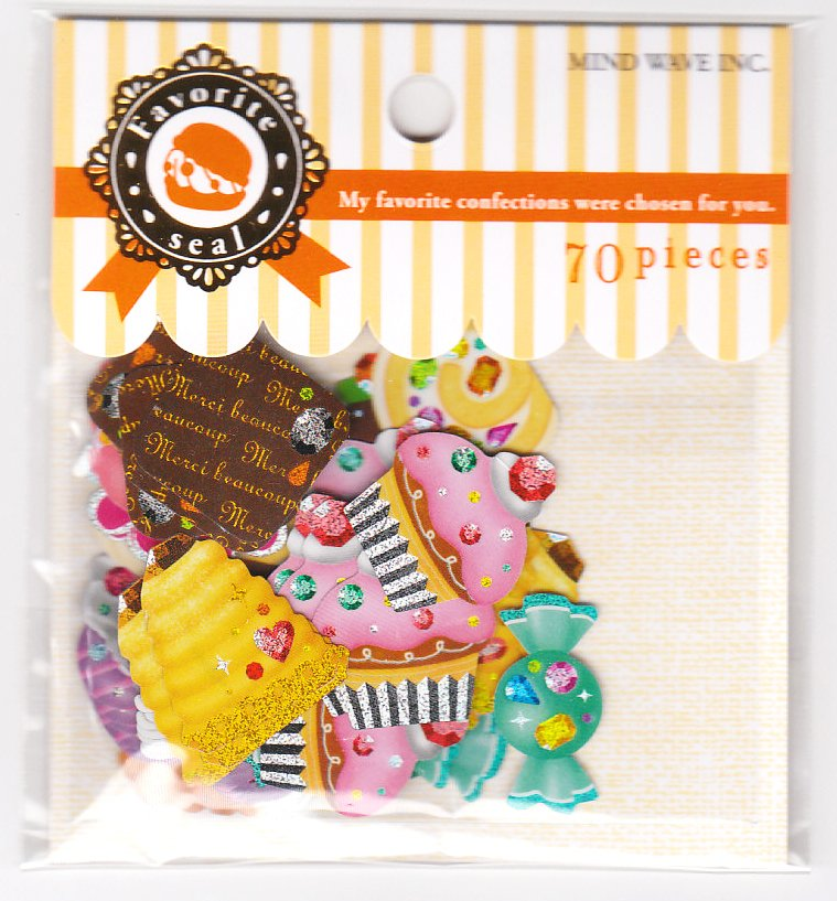 MindWave Favorite Confections Sticker Sack