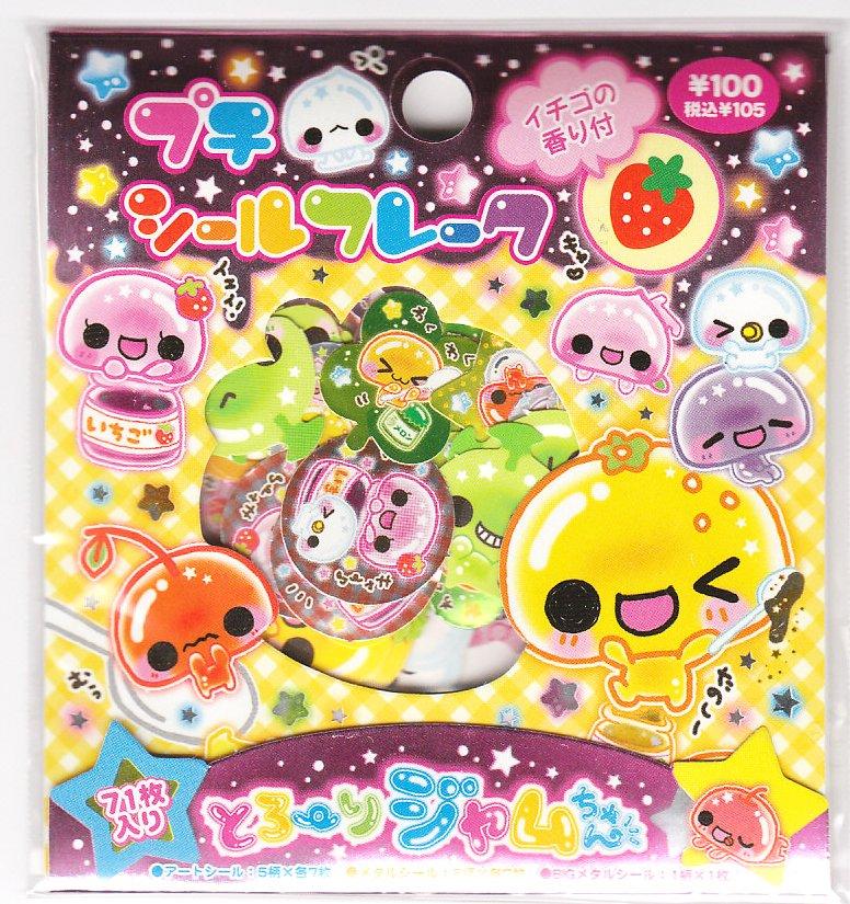 Kamio Torori Jam Chan Sticker Sack