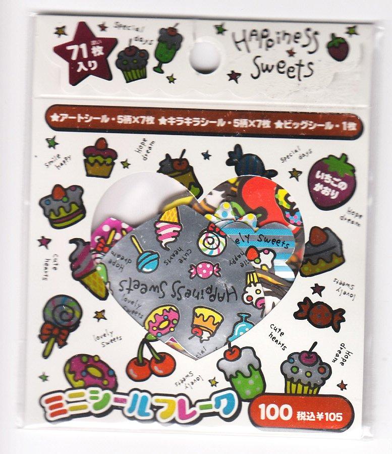 Crux Happiness Sweet Sticker Sack