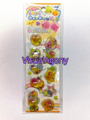 Crux Nakayoshi Fruits Water Capsule Sticker Sheet