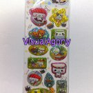 Q-Lia Paku Paku Osushi Chan Beaded Capsule Sticker Sheet