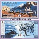 Antarctica 1 Dollar '99